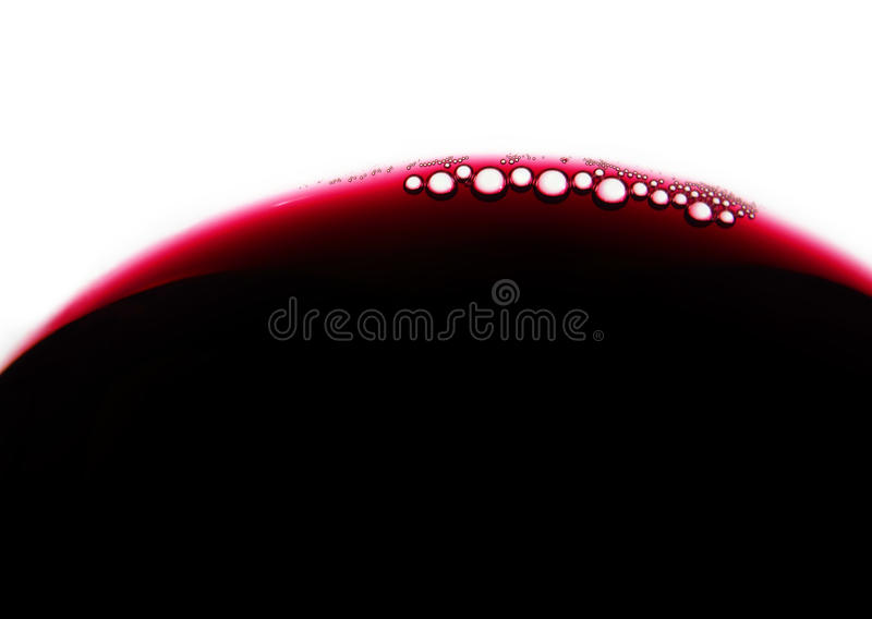 Wein bubles lizenzfreie stockfotos