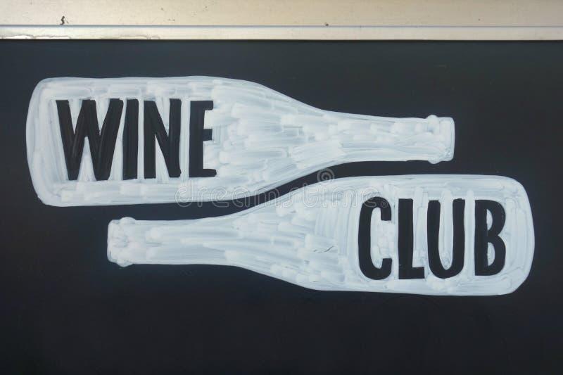 Wein-Club lizenzfreies stockfoto