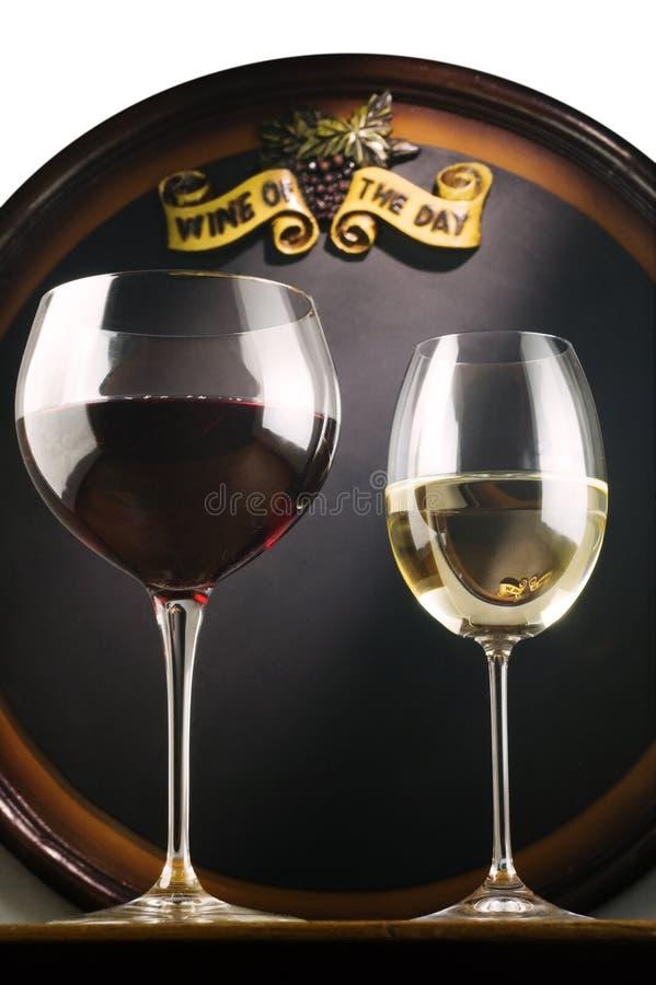Wein des Tages lizenzfreie stockfotos