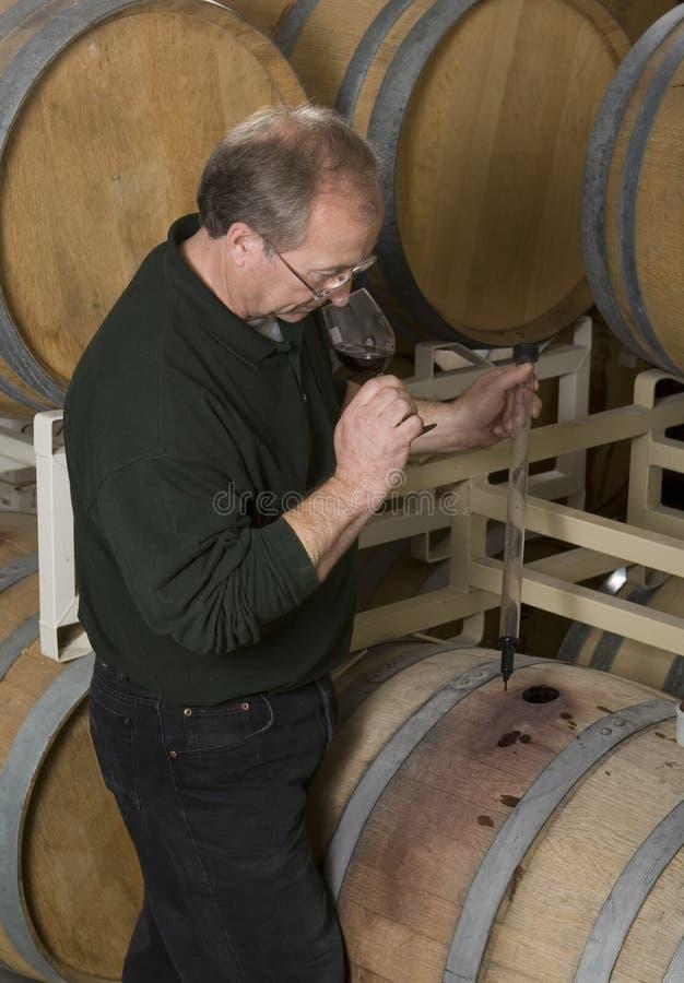 Wein-Hersteller stockfotografie