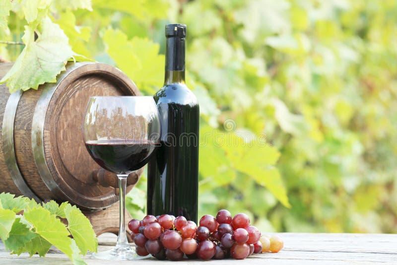 Wein im Glas stockbilder