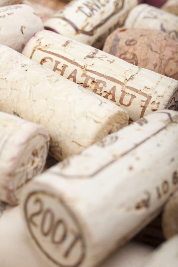 Wein-Korken stockfoto