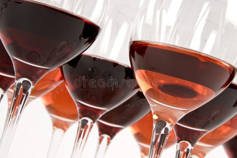 Wein-Probieren stockfotos
