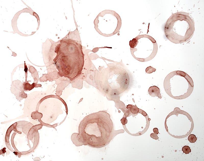 Wein-Ring-Hintergrund vektor abbildung