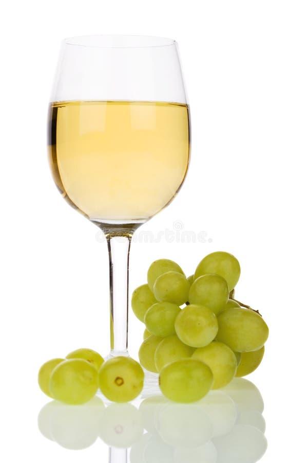 Wein und Trauben lizenzfreie stockbilder