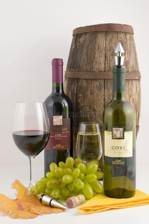 Weinaufbau stockfotos