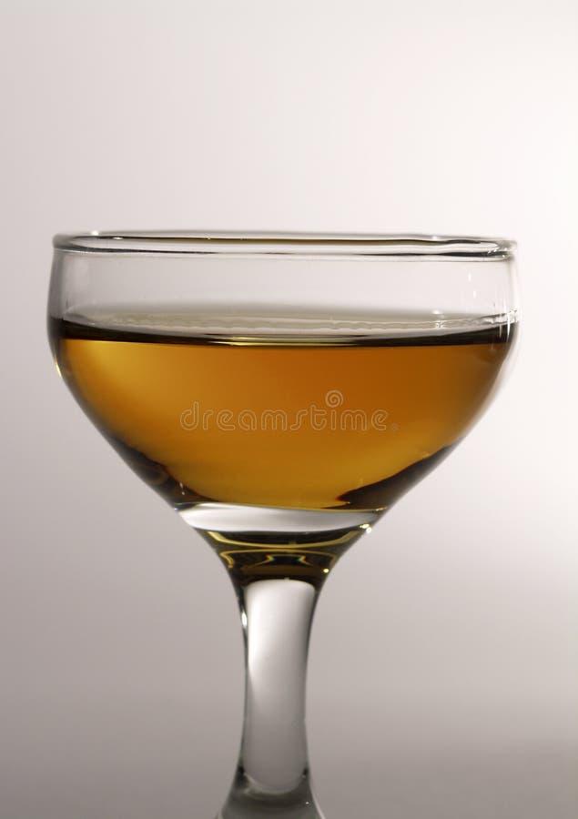 Weinbrand Calvados Stockfotografie