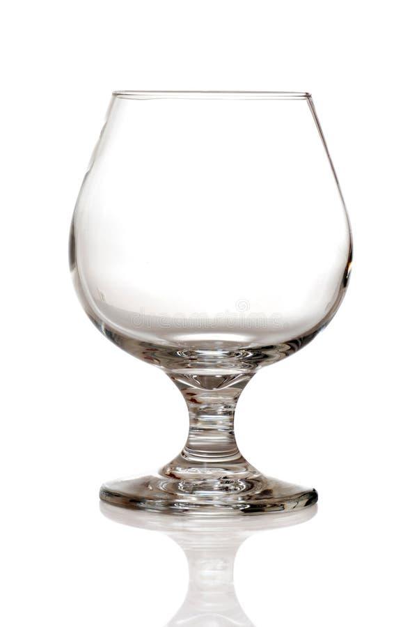 Weinbrandglas lizenzfreie stockfotos