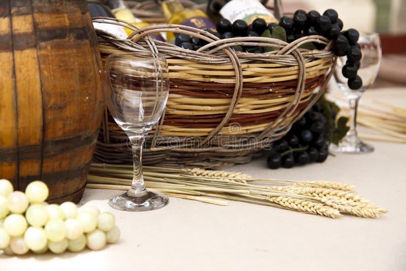 Weindarstellung lizenzfreie stockbilder