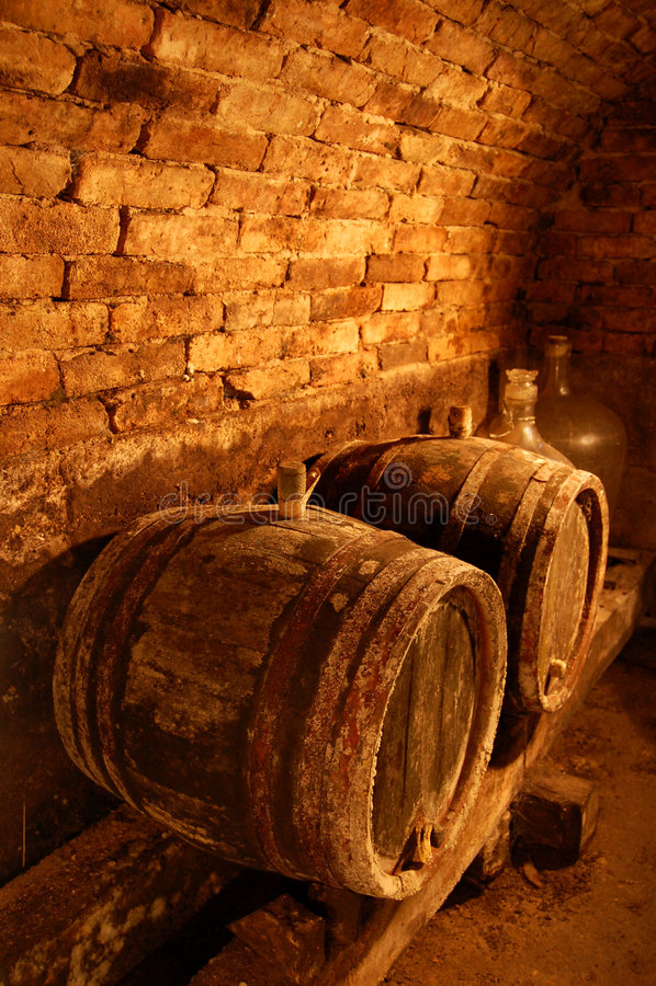 Weinfässer lizenzfreies stockfoto