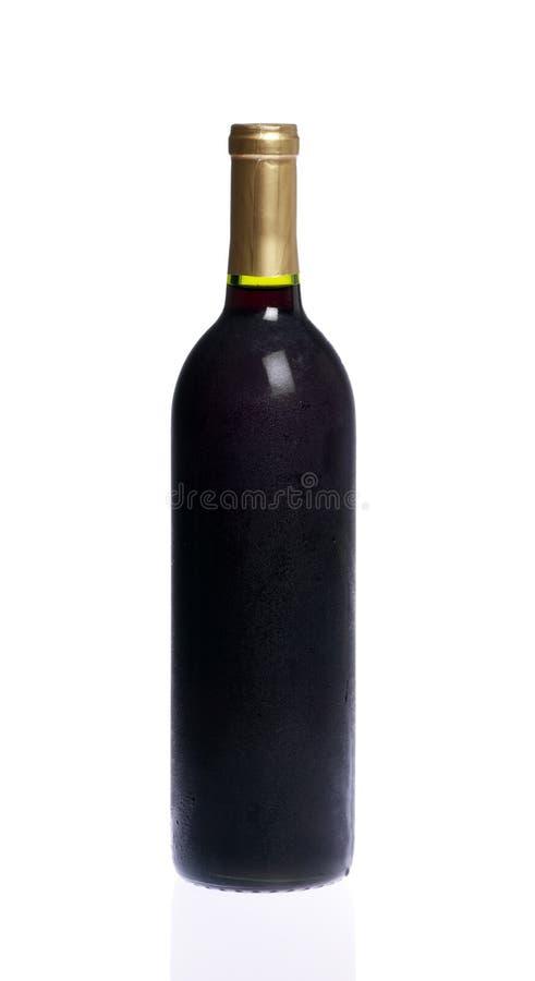 Download Weinflasche stockbild. Bild von kontraste, alcohol, einzeln - 12200409