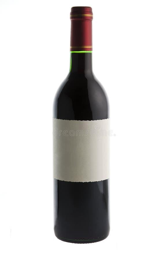 Weinflasche lizenzfreie stockfotos