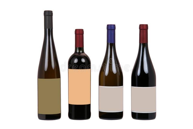 Weinflaschen lizenzfreie stockfotografie