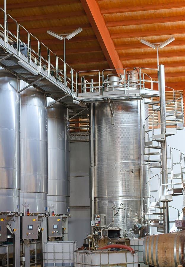 Weinherstellung. stockbilder
