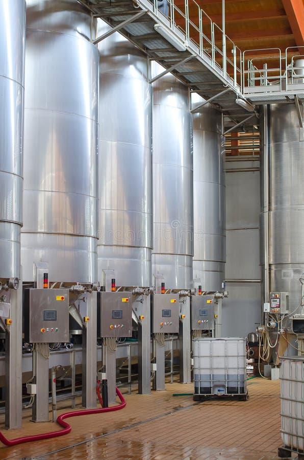 Weinherstellung. lizenzfreie stockfotografie