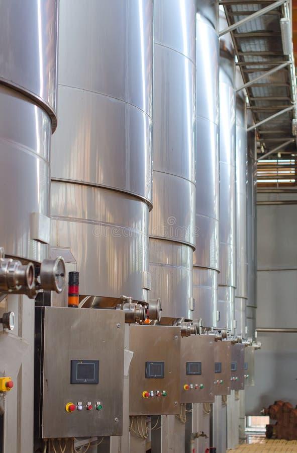 Weinherstellung. stockfotografie
