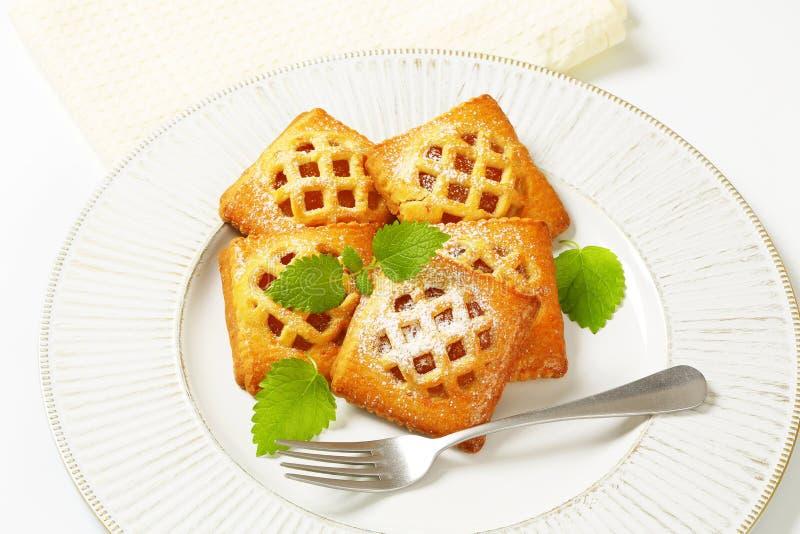 Weinig abrikozenpastei stock fotografie