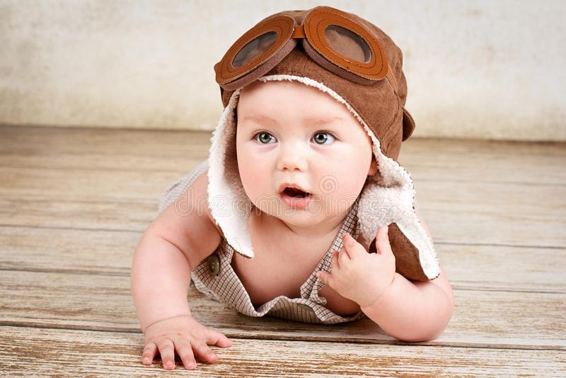 Weinig baby proef stock foto's