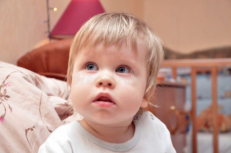 Weinig babyjongen royalty-vrije stock foto