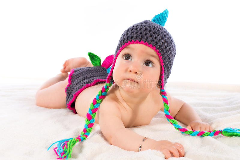 Weinig babyjongen royalty-vrije stock foto's