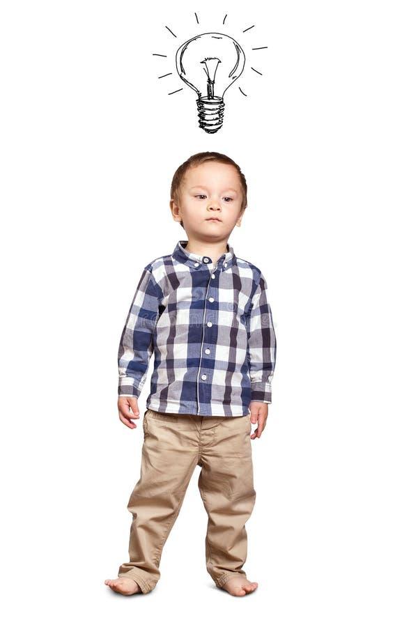 Weinig babyjongen royalty-vrije stock afbeeldingen