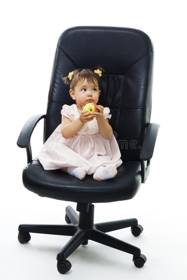 Weinig babywerkgever - laat me sneller groeien royalty-vrije stock afbeeldingen