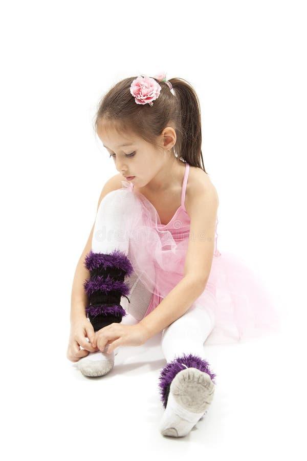 Weinig balerina stock fotografie