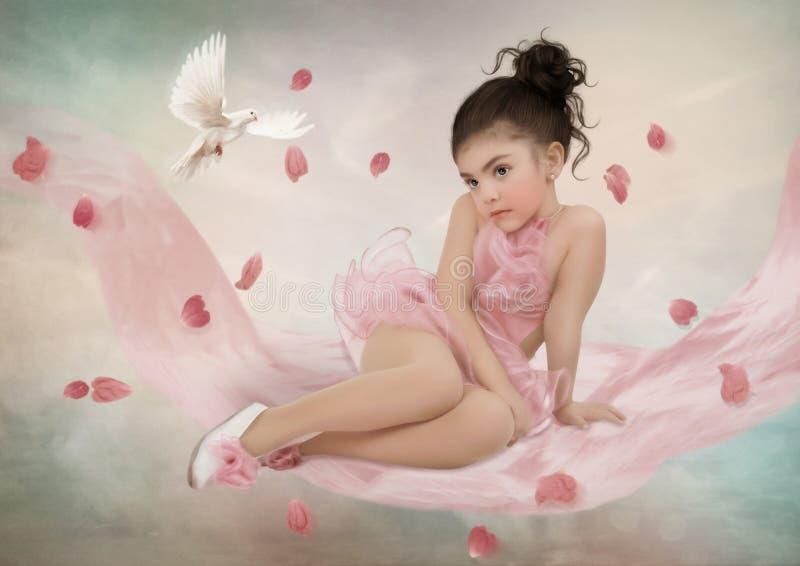 Weinig Ballerina stock afbeeldingen