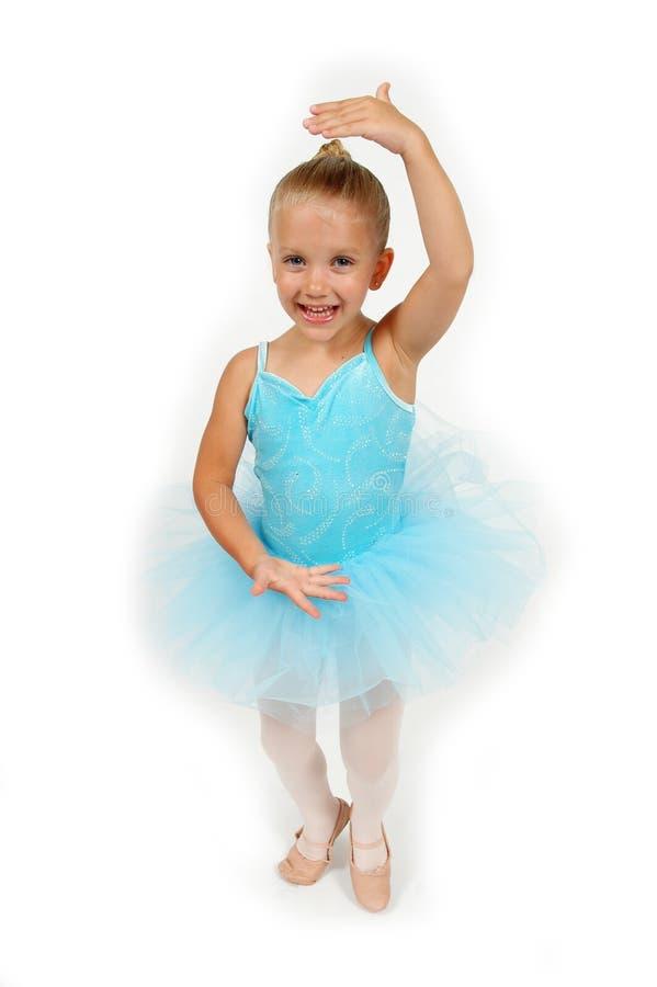 Weinig Ballerina stelt royalty-vrije stock fotografie