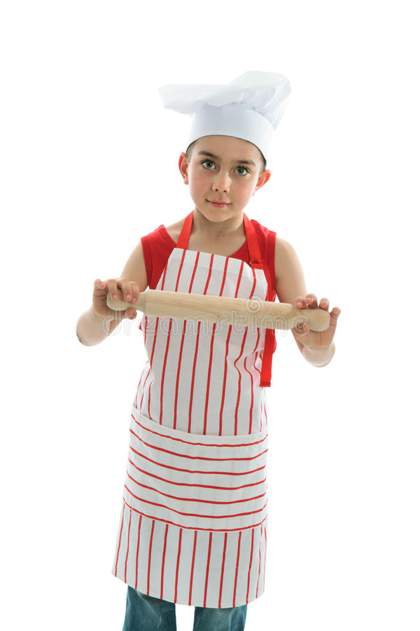 Weinig chef-kok stock fotografie