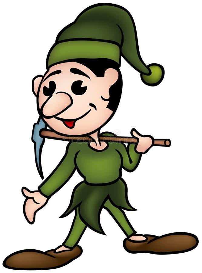 Weinig Elf royalty-vrije illustratie
