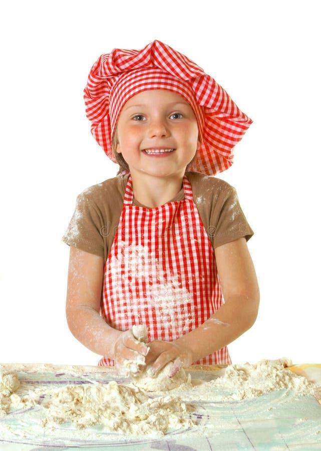 Weinig grappige bakker royalty-vrije stock foto