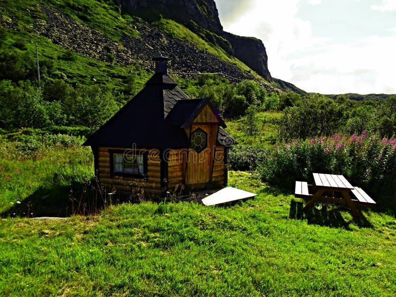 Weinig hobbitparadijs stock foto