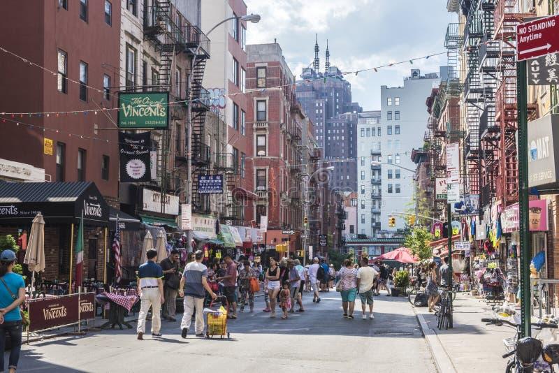 Weinig Italië, Manhattan, New York, Verenigde Staten stock fotografie
