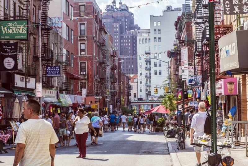 Weinig Italië, Manhattan, New York, Verenigde Staten stock afbeelding