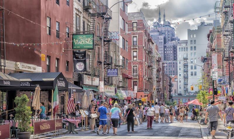 Weinig Italië, Manhattan, New York, Verenigde Staten stock foto's