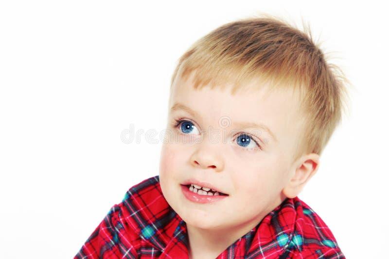 Weinig jongen stock fotografie