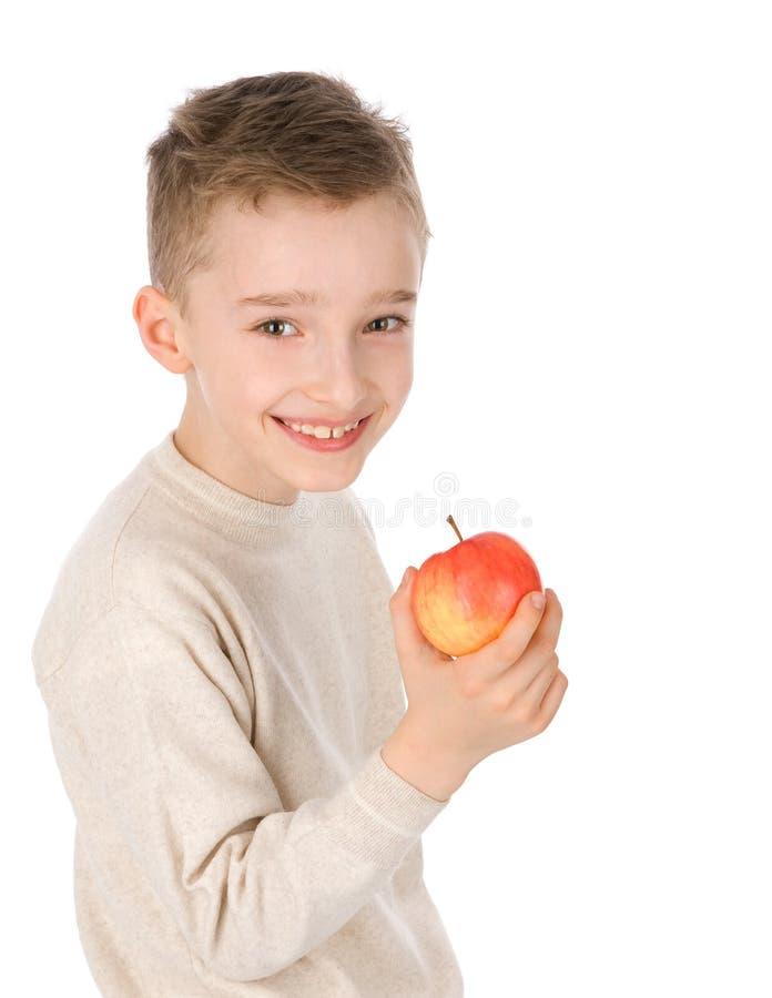 Weinig jongen het glimlachen royalty-vrije stock fotografie