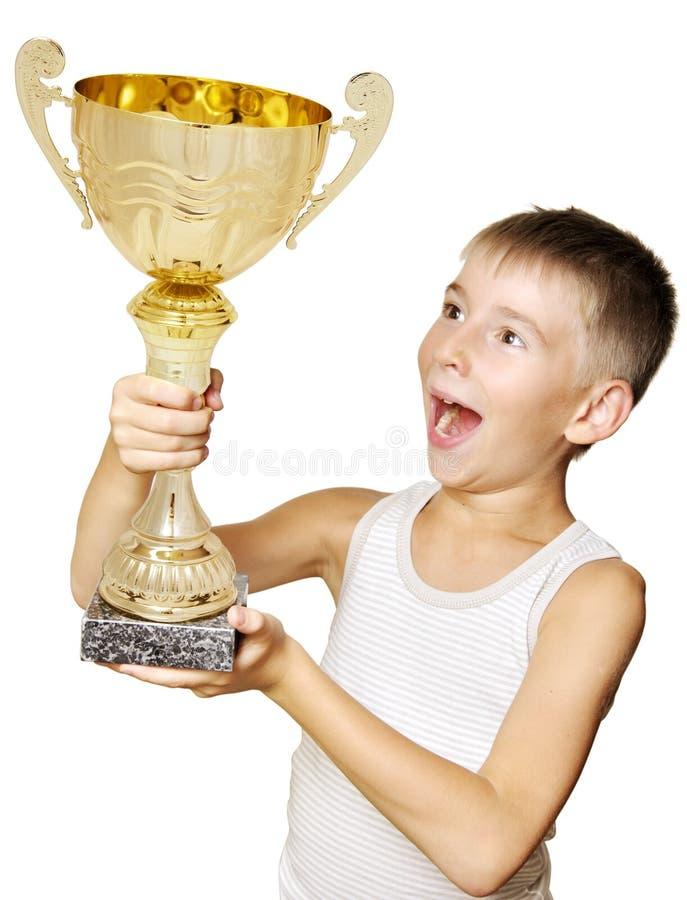 Weinig kampioen stock foto's
