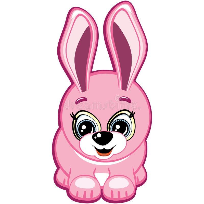 Weinig konijn stock illustratie