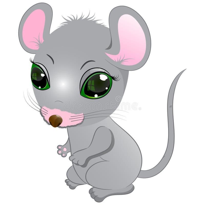 Weinig leuke muis vector illustratie