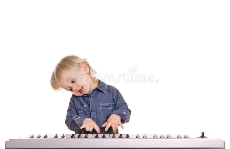Weinig musicman stock afbeelding