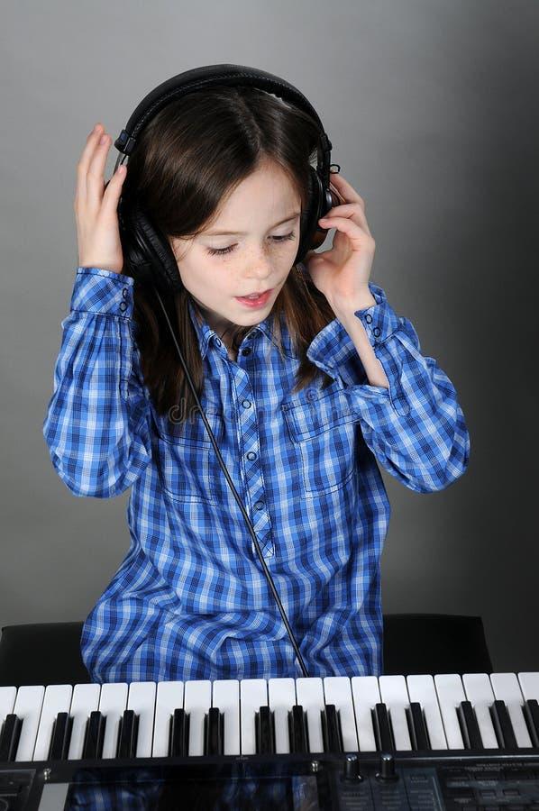 Weinig musicus royalty-vrije stock foto