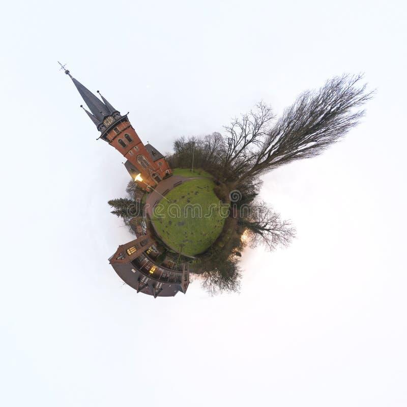 Weinig Panorama van de Planeet royalty-vrije stock afbeelding