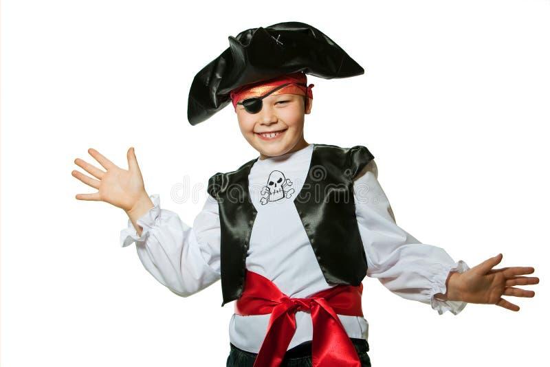 Weinig piraat royalty-vrije stock foto's