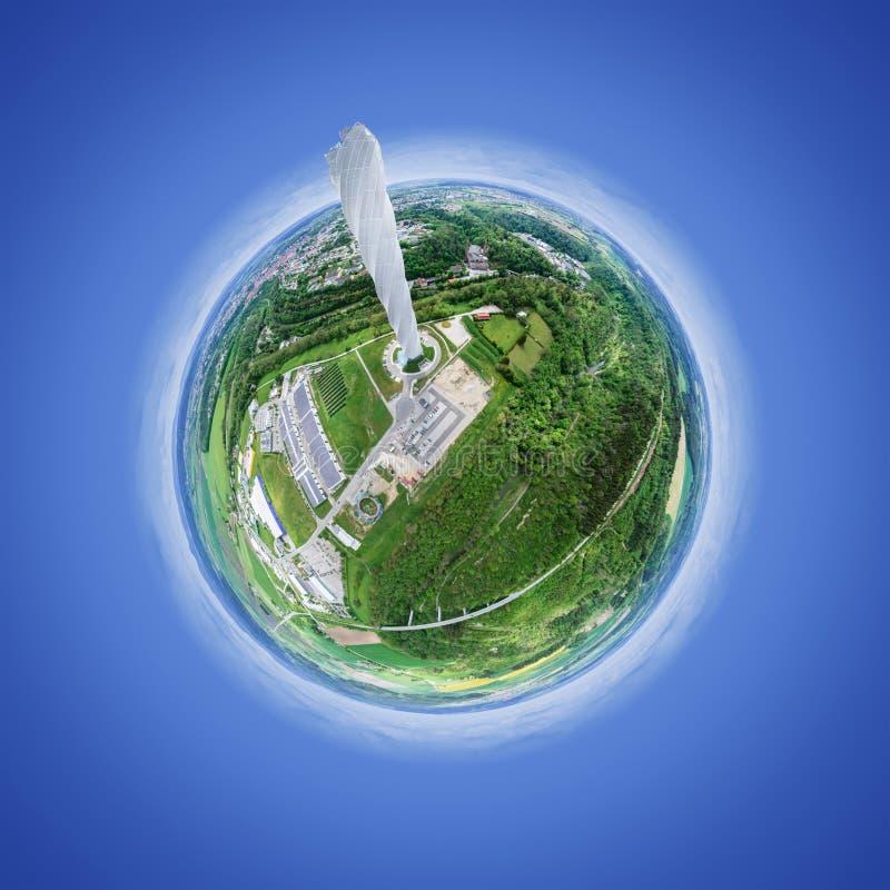 weinig planeet in Rottweil Duitsland royalty-vrije stock foto