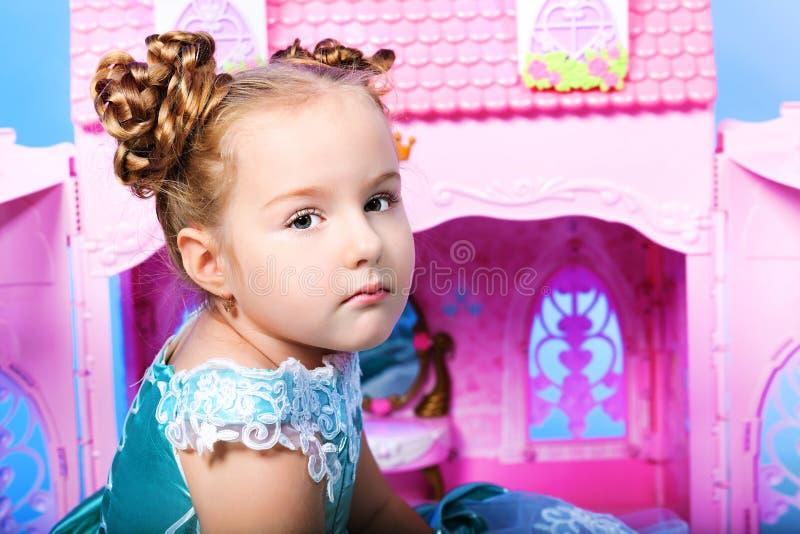 Weinig prinses royalty-vrije stock foto's