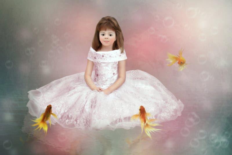 Weinig Prinses royalty-vrije illustratie