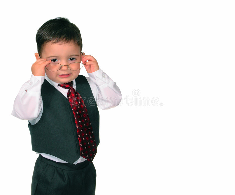 Download Weinig Reeks Van De Mens: Who Is De Werkgever? Stock Foto - Afbeelding bestaande uit zoon, formeel: 25404
