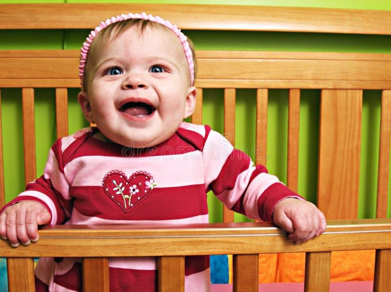 Weinig Tweeling van het Babymeisje royalty-vrije stock afbeeldingen